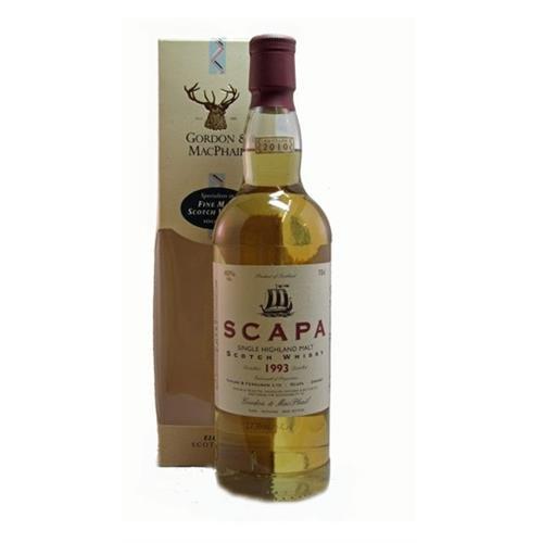 Scapa 1993 40% 70cl Gordon & Macphail Image 1