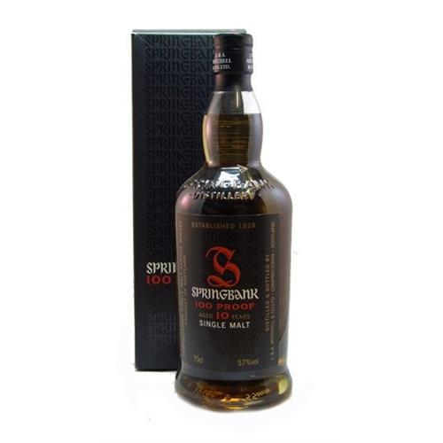 Springbank 100 proof 10 years old 57% 70cl Image 1