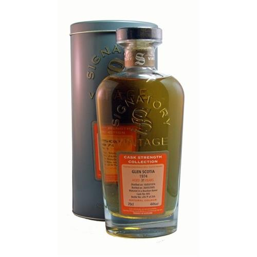 Glen Scotia 31 years old 1974 44% 70cl Image 1