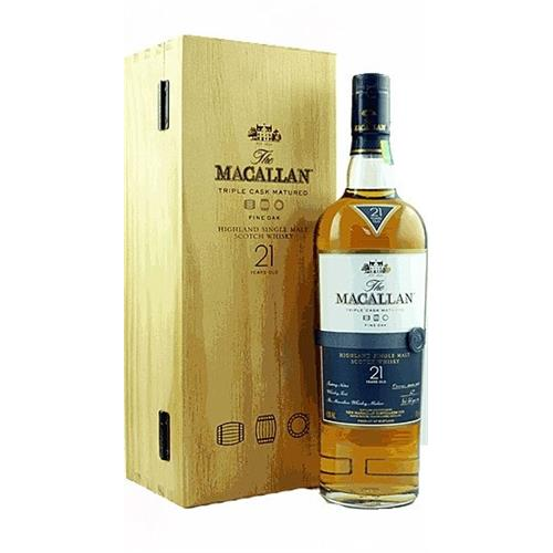 Macallan Fine Oak 21 years old 43% 70cl Image 1