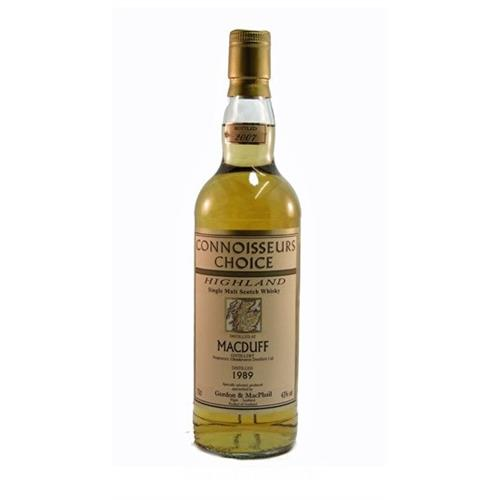 Macduff 1989 Connoisseurs Choice 43% 70cl Image 1