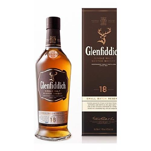 Glenfiddich 18 years old small Batch Res 40% 70cl Image 1