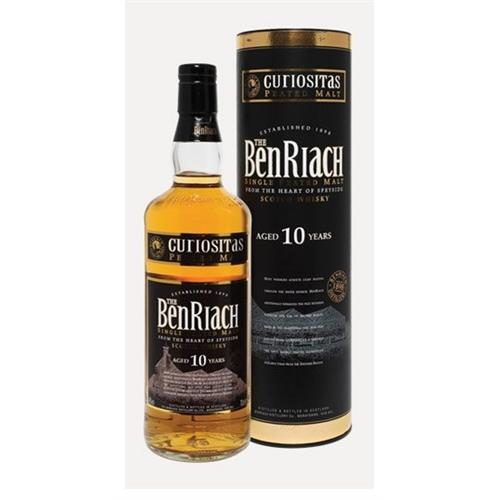 The Benriach 10 years old Peated Curiositas 40% 70cl Image 1