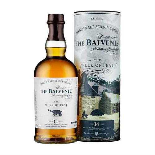 Balvenie The Week of Peat 14 Year Old 48.3% 70cl Image 1