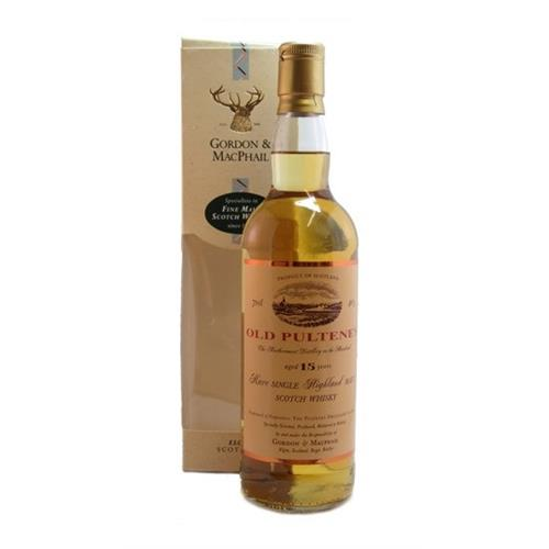 Old pulteney 15 years old Gordon & Macpail 40% 70cl Image 1