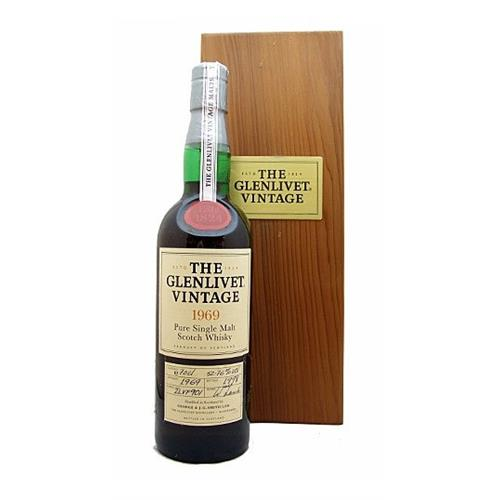 Glenlivet 1969 31 years old 52.76% 70cl Image 1