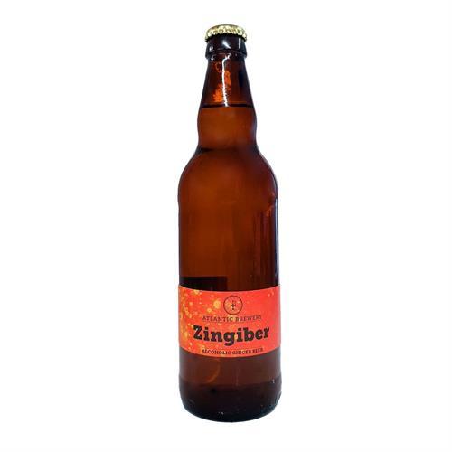 Atlantic Brewery Zingiber Real Ginger Beer 5.0% 500ml Image 1