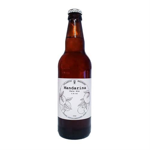 Atlantic Brewery Mandarina Organic Pale Ale 4.2% 500ml Image 1
