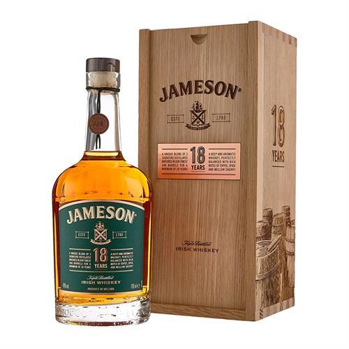 Jamesons 18 Year Old Irish Whiskey 70cl Image 1