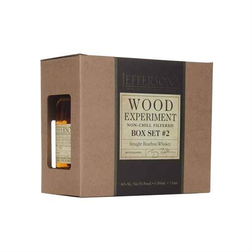 Jefferson's Wood Experiment Box Set #2 5x20cl Image 1