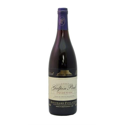 Bouchard Finlayson Pinot Noir 2018 Galpin Peak 75cl Image 1
