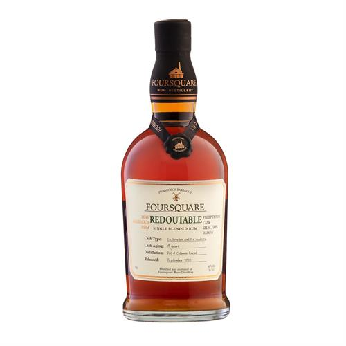 Foursquare Redoutable 14 Year Old Exceptional Cask Selection 70cl Image 1