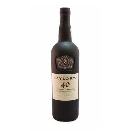 Taylors 40 years old Tawny Port 20% 75cl Image 1