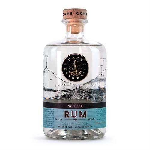Cape Cornwall White Rum 70cl Image 1