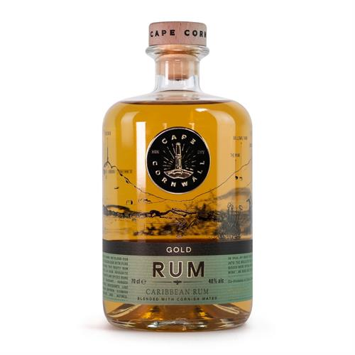 Cape Cornwall Gold Rum 70cl Image 1