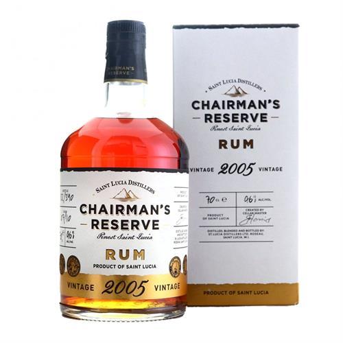 Chairmans Reserve 2005 Vintage Rum 70cl Image 1