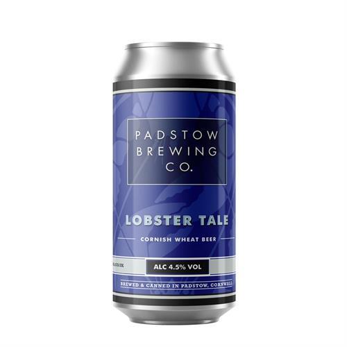 Padstow Lobster Tale Wheat Beer 4.5% 440ml Image 1