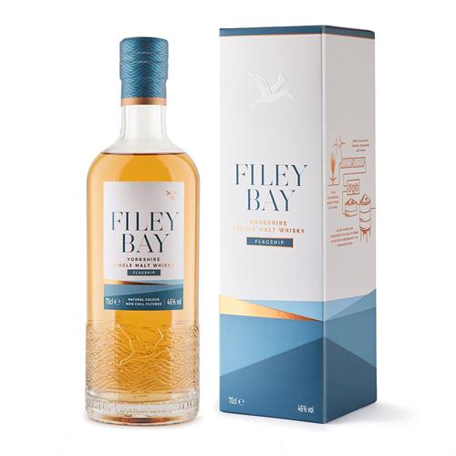 Filey Bay Flagship Single Malt Whisky 70cl Image 1