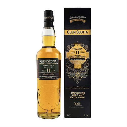 Glen Scotia 11 Year Old Double Sherry Cask Finish Single Malt Whisky 70cl Image 1