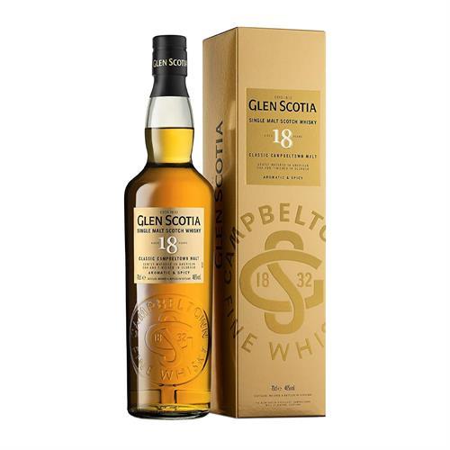 Glen Scotia 18 Year Old Single Malt Whisky 70cl Image 1