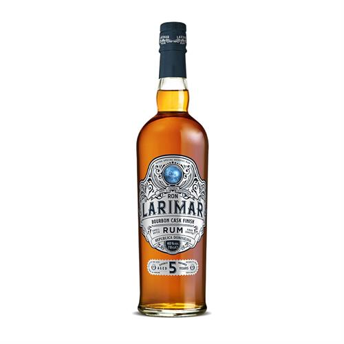 Ron Larimar 5 Year Old Bourbon Cask Finish Dark Rum 70cl Image 1