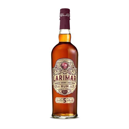 Ron Larimar 5 Year Old Oloroso Sherry Cask Finish Dark Rum 70cl Image 1