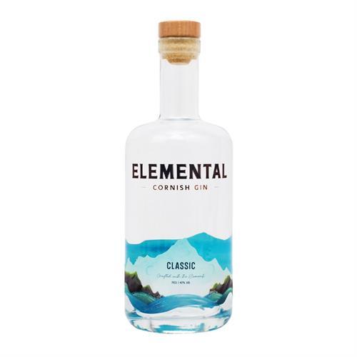 Elemental Cornish Classic Gin 70cl Image 1
