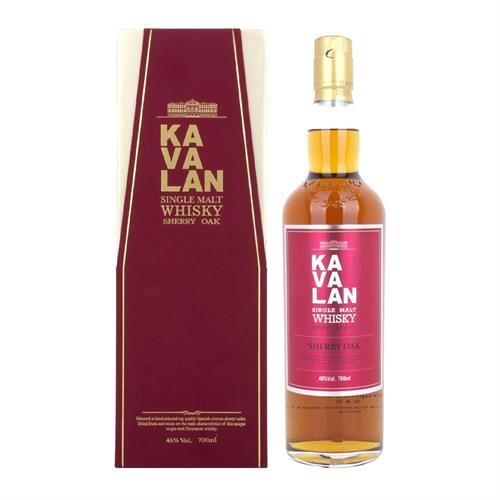 Kavalan Single Malt Whisky Sherry Oak 70cl Image 1