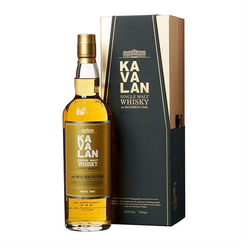 Kavalan Single Malt Whisky Ex-Bourbon Oak 70cl Image 1