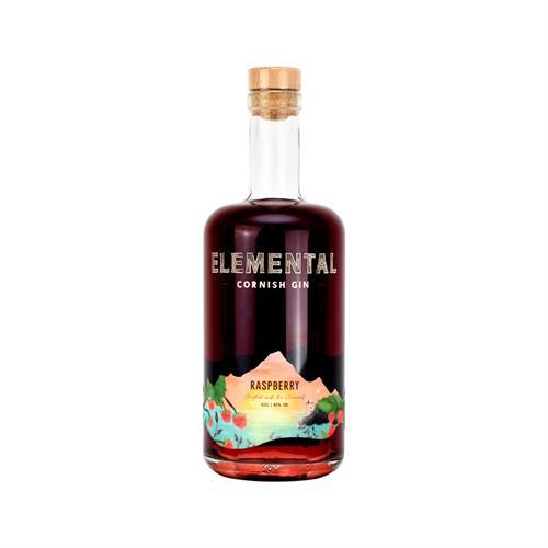 Elemental Raspberry Cornish Gin 50cl Image 1