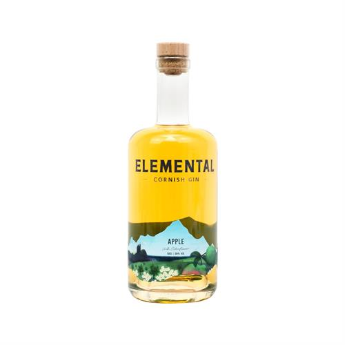 Elemental Apple With Elderflower Cornish Gin 50cl Image 1