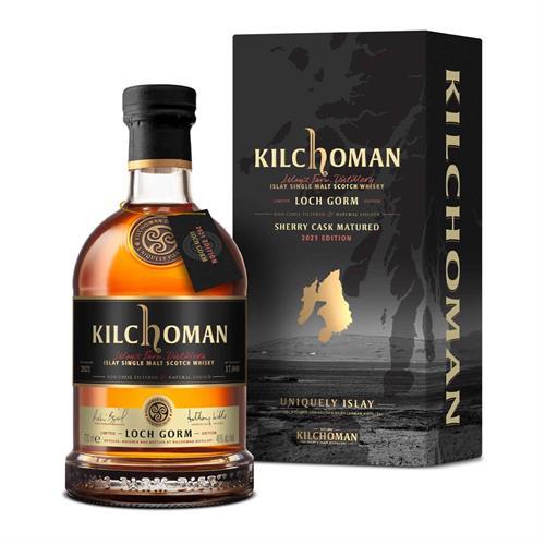 Kilchoman Loch Gorm Sherry Cask Matured 2021 Release 70cl Image 1