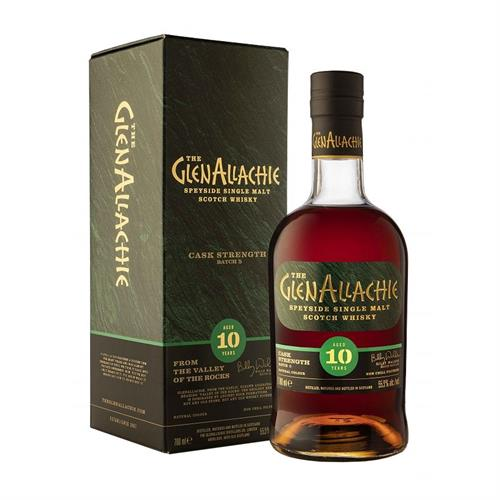 GlenAllachie Cask Strength 10 Year Old Batch 5 55.9% 70cl Image 1