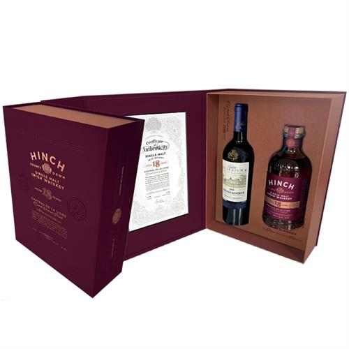 Hinch 18 Year Old Single Malt Irish Whiskey 70cl Image 1