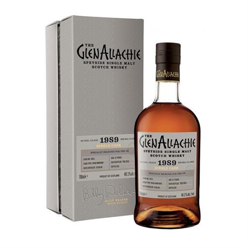 GlenAllachie 1989 Cask No. 4011 31 Year Old 49.1% 70cl Image 1
