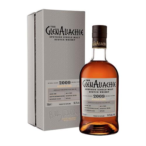 GlenAllachie 2009 Cask No. 5000 11 Year Old 58.3% 70cl Image 1