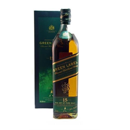Johnnie Walker 15 years old Green Label 43% 70cl Image 1