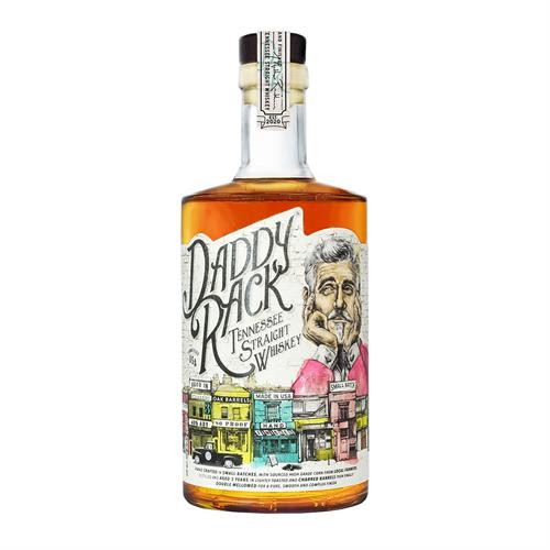 Daddy Rack Tennessee Straight Whiskey 40% 70cl Image 1