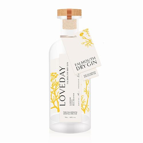 Loveday Falmouth Dry Gin 70cl Image 1