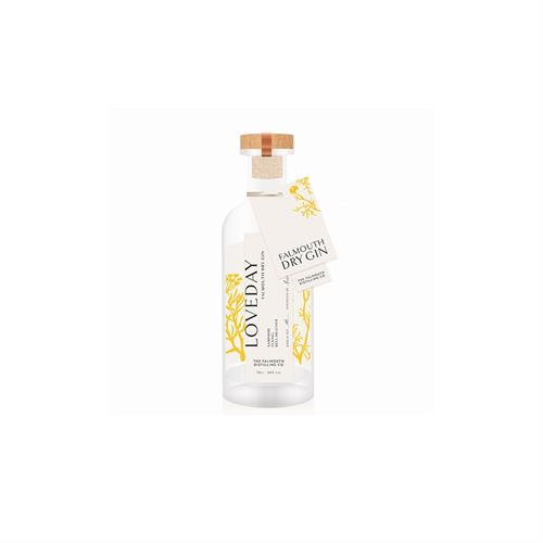 Loveday Falmouth Dry Gin 20cl Image 1