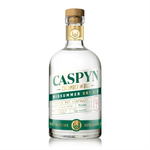 Caspyn Midsummer Dry Gin 70cl Image 1