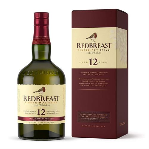 Redbreast 12 Year Old Single Pot Still Whiskey 70cl Image 1