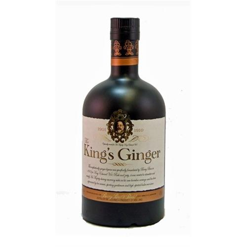 Berrys Kings Ginger liqueur 41% 50cl Image 1
