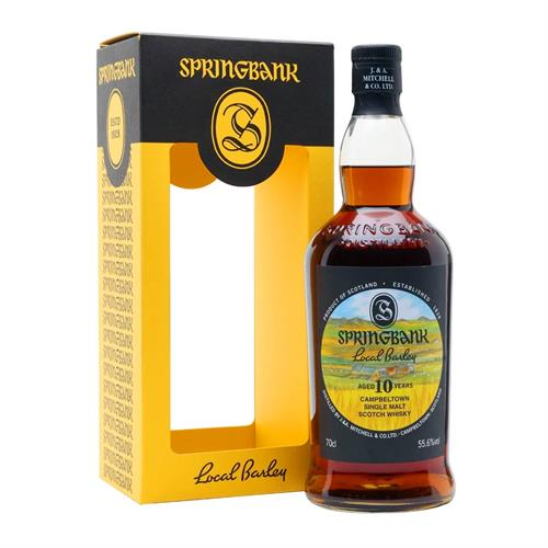Springbank Local Barley 10 Year Old 2021 55.6% 70cl Image 1