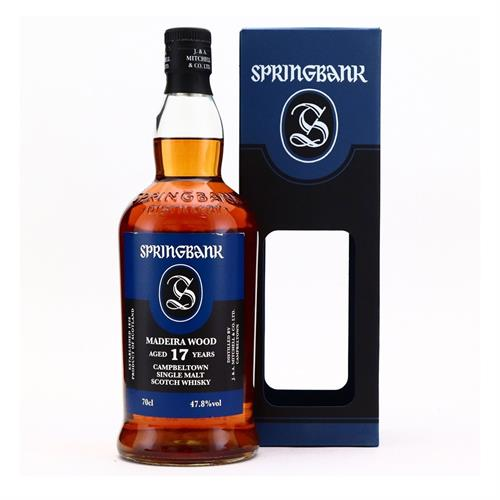 Springbank 17 Years Old Madeira 47.8% 70cl Image 1