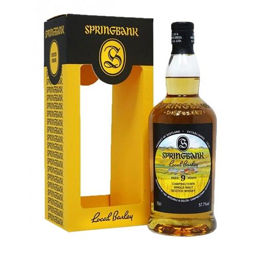 Springbank Local Barley 9 Year Old 57.7% 70cl Image 1