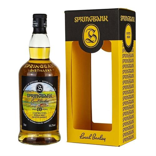 Springbank Local Barley 10 Year Old 2019 56.2% 70cl Image 1