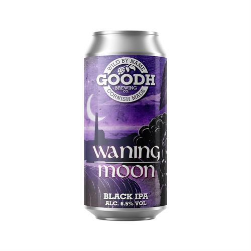 Goodh Brewing Co. Waning Moon Black IPA 6.5% 440ml Image 1