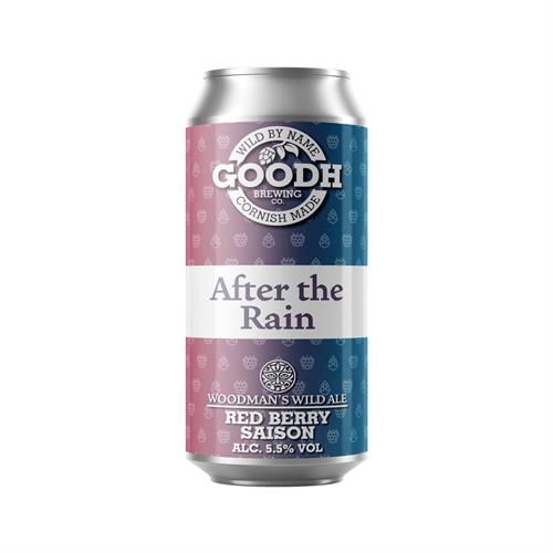 Goodh Brewing Co. After the Rain Red Berry Saison 5.5% 440ml Image 1