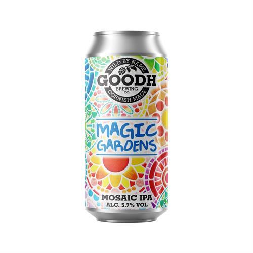 Goodh Brewing Co. Magic Gardens Mosaic IPA 5.7% 440ml Image 1